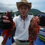7月24日(日)午前根魚五目テンヤ