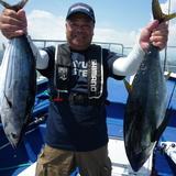 8月4日(木)カツオ・キメジ・コマセ釣り・キャスティング・ジギング