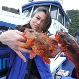 4月26日(水)午前根魚五目テンヤ